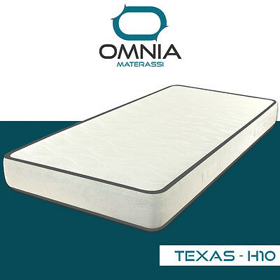 Materasso Singolo 80X190 H 10 Cm In Waterfoam Non Sfoderabile Texas  Ortopedico