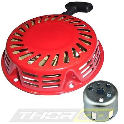 new PULL START Recoil Starter fits Honda GX120 GX160 GX200 steel pawl inc. cup