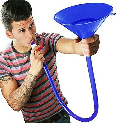 Blue Beer Bong Funnel for American Style Parties NEW