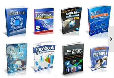 20 Facebook related PDF eBooks Free Shipping With Master Resell Rights