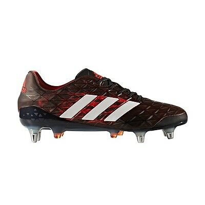 adidas Kakari Light SG Black Red BB5956 Rugby Boots Size UK 9 - 13