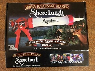 Shore Lunch Jerky And Sausage Maker Sausage Making Kit