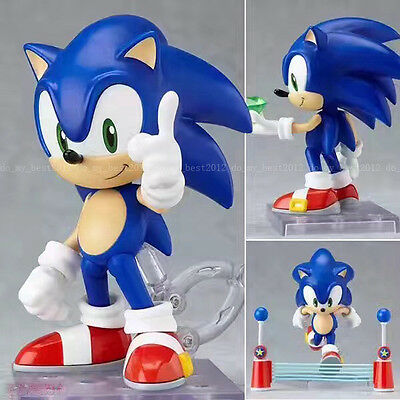 Nendoroid Anime Sonic The Hedgehog SEGA 10cm Action Figure Figurine Gift Set