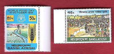 Bangladesch  (288) World Food Day 1981  Postfrisch ** Mnh