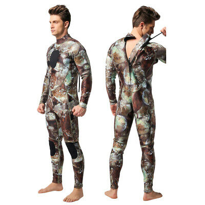 Men 3mm Neoprene Camouflage Wetsuit for Scuba Free Diving Spear Fishing Swimming