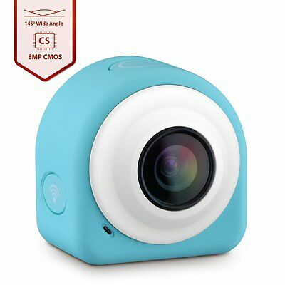 Sticky Magnetic Plate WiFi Mini Life Action Camera Image Sensor for Selfie Fans