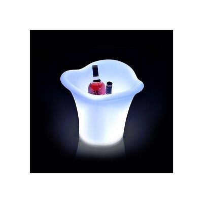 Botellero/Cubitera LED RGBW 32cm Recargable