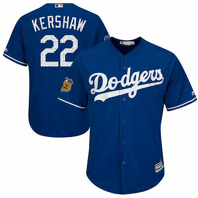 Los Angeles Dodgers #22 Clayton Kershaw 2017 Spring Training Cool Base Jersey