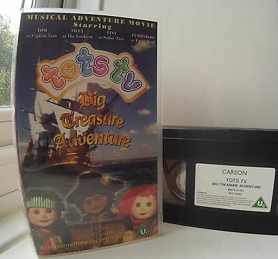 Tots TV - Big Treasure Adventure VHS Video