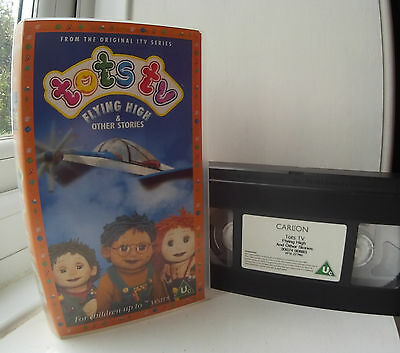 Tots TV - Flying High & Other Stories VHS Video