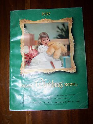 Vintage 1957 Sears Roebuck & Company Christmas Wishbook Catalog GREAT SHAPE