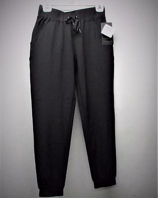 New Womens  XS EP Pro Tech Pull On  black poly spandex golf pants ankle length