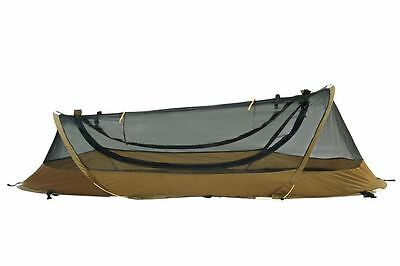 U.S. Military Catoma Pop Up Bed Net System BNS Pop-Up Tent Coyote Brown USMC NIB