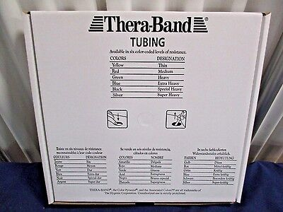 Thera-Band Green Heavy Resistance Exercise Tubing 25' NEW