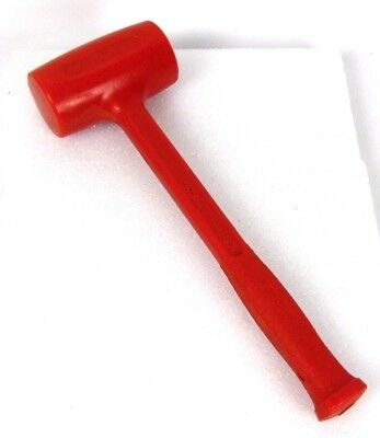 FACTORY 2ND Matco Red 40 oz. American Made Sign Shop Auto Body Dead Blow Hammer