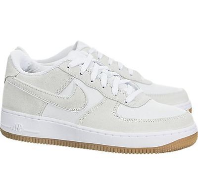 new arrival 34926 00fa6 NIKE AIR FORCE 1 Low Big Kid s shoes 596728 101 Off White Gum Fast Shipping