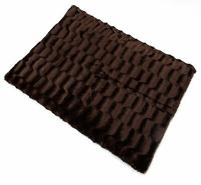 LARGE  Fleece Dog Bed-Pet Washable Zipped Mattress Cushion cover only