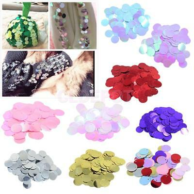 Round Loose Sequins Loose Sewing Craft Dress Performance Costume Embellishment
