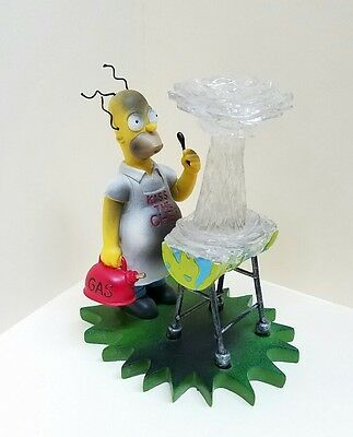 """Kiss the Chef"" The Simpsons At Home with Homer Collection Hamilton sculpture"