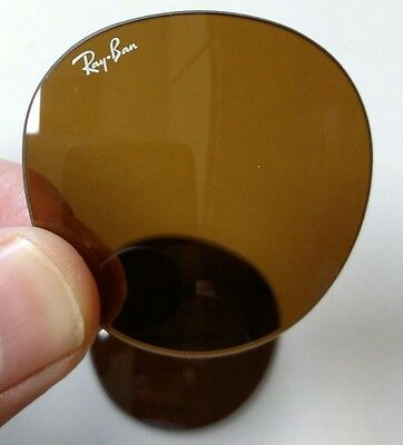 Ray Ban Lenses RB2447 1160 49 mm B-15 1160 Glass Replacement OEM Amber RB 2447