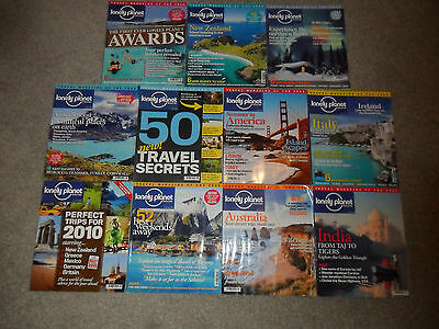 11 LONELY PLANET Magazines From 2010