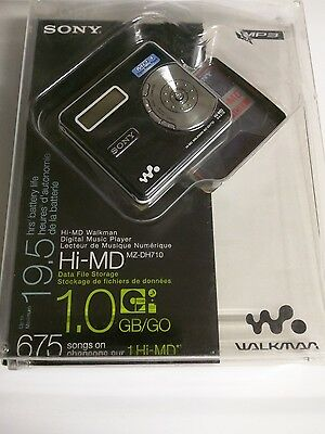Sony HI-MD MZ-DH710 Walkman  - Very Rare (NEW in Factory Sealed Package)