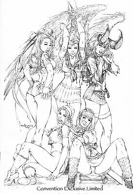 Darkness # 10 Jay Co After School special Sketched Virgin Edition  With COA