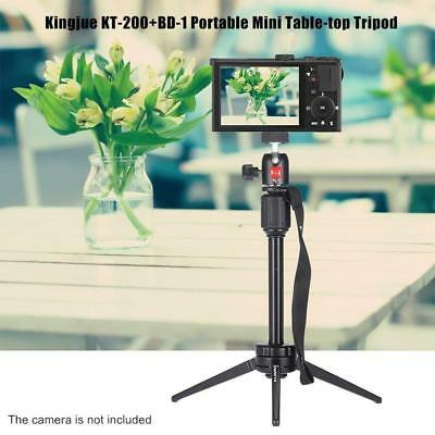 Mini Travel Tripod Table Top Stand Ball Head for Camera Camcorder DVR DSLR