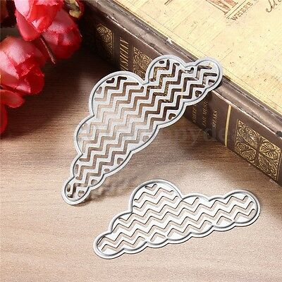 Cloud Metal Cutting Dies Stencil For DIY Scrapbooking Embossing Paper Card Decor