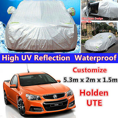 Holden UTE Large Aluminum Heavy Duty Waterproof Car Cover UV dust protection