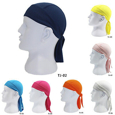 Outdoor Bike Bicycle Cycling Pirates Headband Scarf Sweatproof Bandana Cap Hat