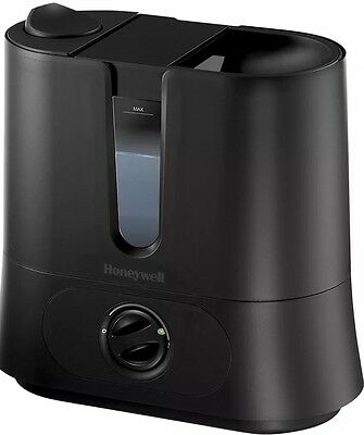 Honeywell Easy To Care Removable Top Fill Ultrasonic Humidifier, Black, HUL570B>