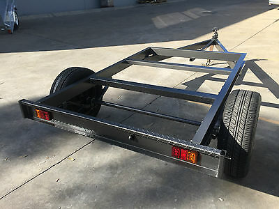 Tray top Trailer chassis SUIT  8X6FT TRAY ALSO BOX TRAILER BIKES QUADS ATV TRAIL