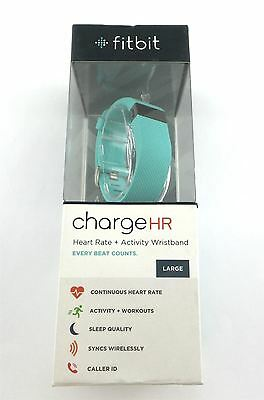 Fitbit Charge HR Fitness Activity Sleep and Heart Rate Tracker Large Wristband