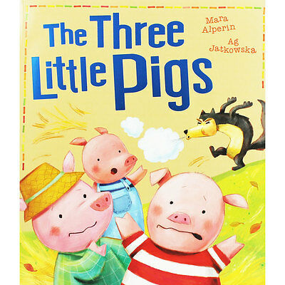 The Three Little Pigs by Mara Alperin (Paperback), Children's Books, Brand New