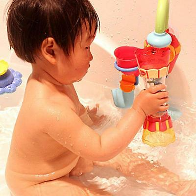 Toddler Kids Bathing Swim Water Toy Whirly Wand Cup DIY Baby Play Bath Toys FW