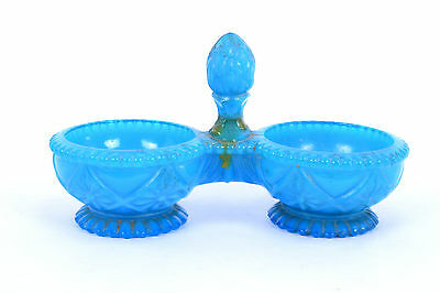 Antique Old Rare Beautiful Decorative Unique Royal Blue Glass Bowl. G16-127