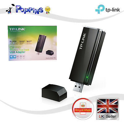 NEW TP-LINK AC1300 High Gain Wireless Dual Band USB Adapter Archer T4UH