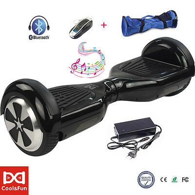 "6.5""Patinete eléctrico Bluetooth scooter Monociclo self balancing 2ruedas regalo"