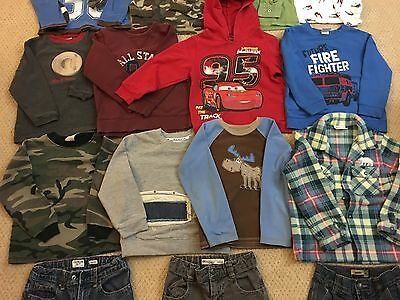 Mixed Lots of Boys Clothes Size 5T Osh Kosh, Carter's, Disney and other brands