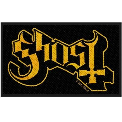 Ghost Logo Woven Patch Official Heavy Metal Band Merch New