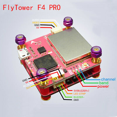 Flytower F4 Pro Flight control Integrated OSD 4 in1 ESC For FPV Racing drone