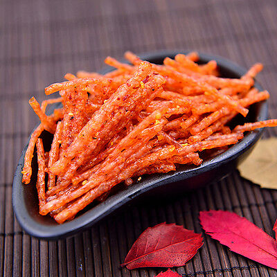 New Chinese Snacks Spicy Strips Delicious Soy Products Foods 32g