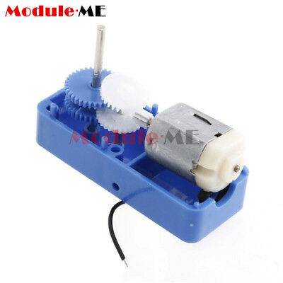 1: 94 Mini Output Biaxial Reduction Box Gear Motor For DIY Robot Toys Parts UK