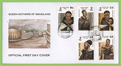 Swaziland 2006 Queen Mothers of Swaziland set on First Day Cover