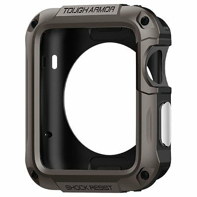 Spigen Apple Watch 2 42mm Case Tough Armor Series Cover Screen Protector Hard US