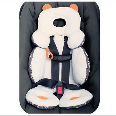 Cotton Baby Stroller Cushion Pad Car Seat Liners Mat with Rattles Baby Care S/L