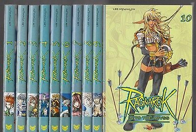 RAGNAROK Into the Abyss  tomes 1 à 10 Lee Myung-Jin MANGA série COMPLETE
