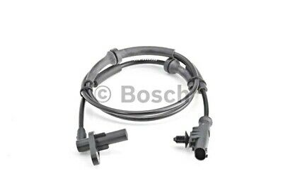 BOSCH 0265007980 0265007686 Wheel speed sensor Rear ABS sensor Fiat 51787753