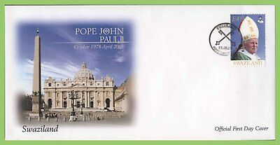 Swaziland 2005 Pope John Paul II First Day Cover